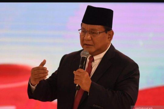 Prabowo kembali tegaskan Indonesia harus swasembada pangan