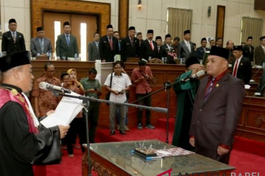 DPRD dorong Mendagri segera definitifkan Bupati Bangka Barat