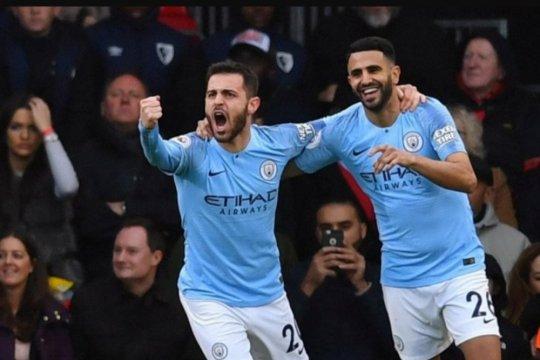 Manchester City ke puncak usai menang 1-0 atas Bournemouth