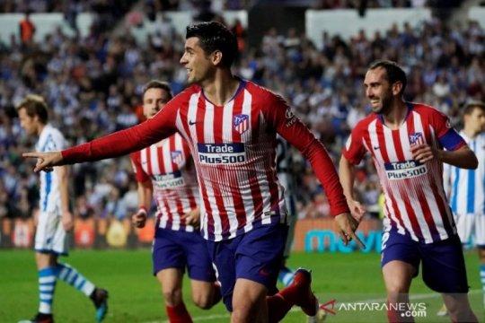 Morata borong dua gol, Atletico benamkan Sociedad