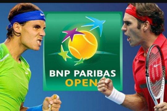 Rafael Nadal mundur, Federer ke final Indian Wells