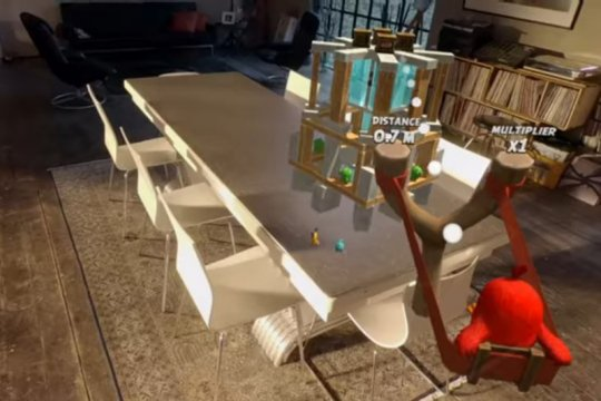 Game Angry Birds versi AR segera hadir di iOS