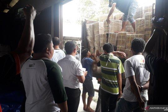 KPU Bangka Tengah terima 261 koli surat suara