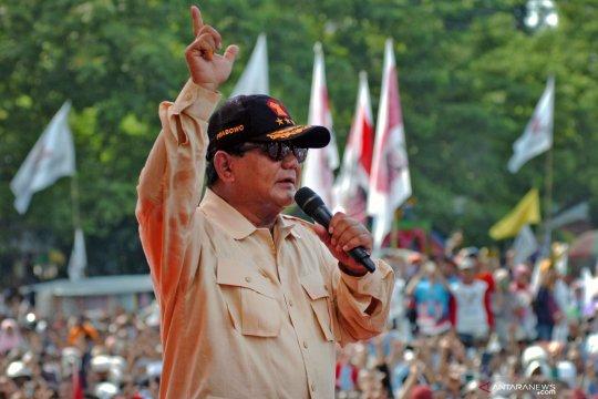 Prabowo Subianto batal hadiri kampanye akbar di Pangkalpinang karena sakit