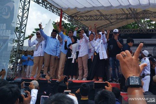 Ribuan simpatisan Babel doakan kesembuhan Capres Prabowo Subianto