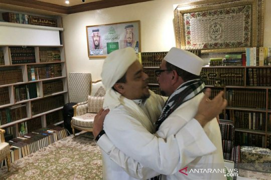 Mahfud MD meminta agar surat pencekalan Habib Rizieq dikirim ke kantornya