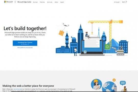 Microsoft rilis perambahan baru mirip Chrome