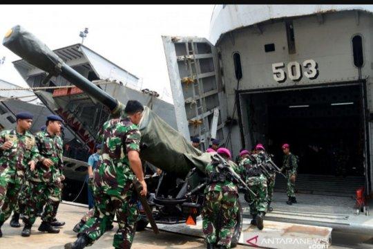 Satlinlamil TNI AL adakan latihan embarkasi dan debarkasi
