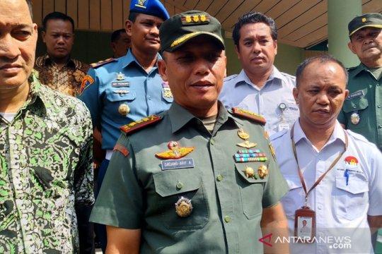 PT Timah - Korem 045 salurkan 2.250 paket sembako