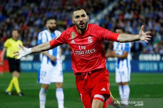 Madrid cuma bisa main imbang di markas Leganes