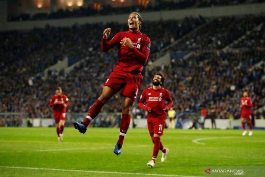 Liga Champions : Liverpool menang 4-1 di markas Porto