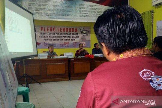 Jokowi-Ma'ruf Amin unggul di Kelurahan Ampui Pangkalpinang