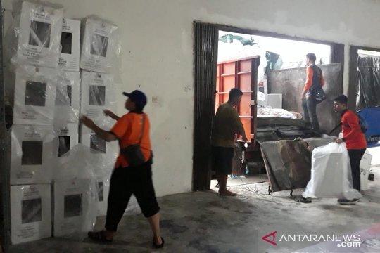 KPU Bangka Tengah terima hasil pleno perolehan suara pemilu dari dua kecamatan