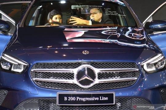 Mercedes The New B Class tampil dengan nuansa sporty