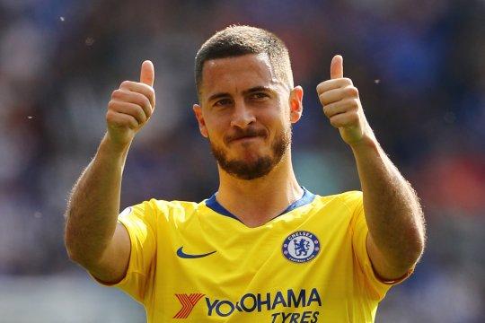 Maurizio Sarri minta Chelsea hormati keputusan Eden Hazard