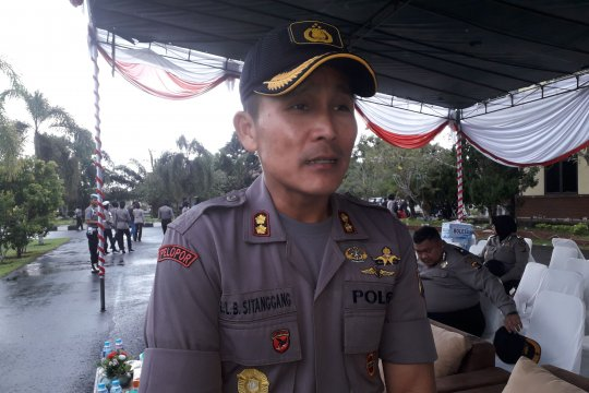 Polres Bangka Tengah tetap siaga pasca-penetapan hasil Pilpres 2019