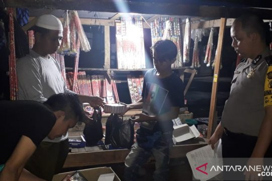 Ciptakan situasi aman, Polres Bangka Barat giatkan razia petasan