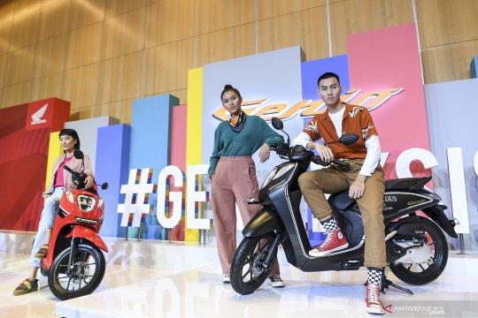 Peluncuran motor skutik Honda Genio