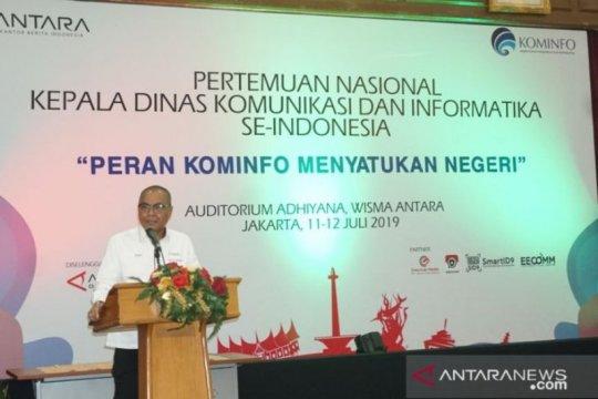 LKBN ANTARA dukung Dinas Kominfo di daerah jaga NKRI dan satukan negeri