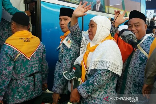 Pemprov Babel lepas keberangkatan 443 calon haji ke embarkasi