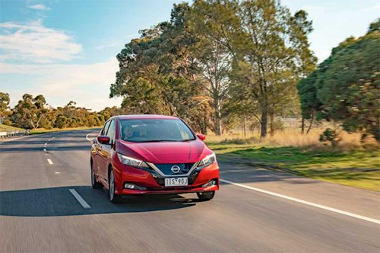 Nissan Leaf segera mengaspal di Australia