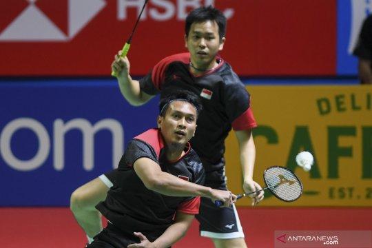 Mohammad Ahsan/Hendra Setiawan melaju ke babak semifinal Indonesia Open 2019