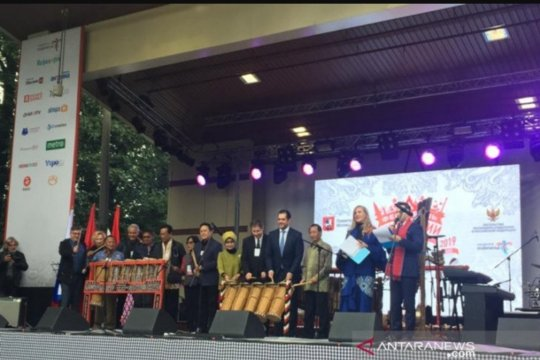 1.000 peserta hadiri Festival Indonesia di Moskow Rusia