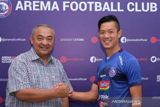 Arema FC rekrut gelandang asal Jepang