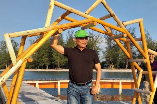 Kepala Staf Kepresidenan RI berkunjung ke Belitung