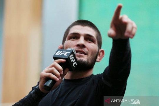 Hadapi Gaethje menjadi laga UFC perdana Khabib setelah kematian ayahnya