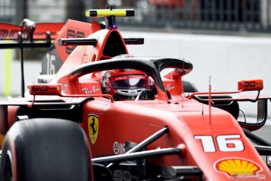 Pembalap Ferrari Leclerc jadi yang tercepat pada latihan bebas F1 GP Italia