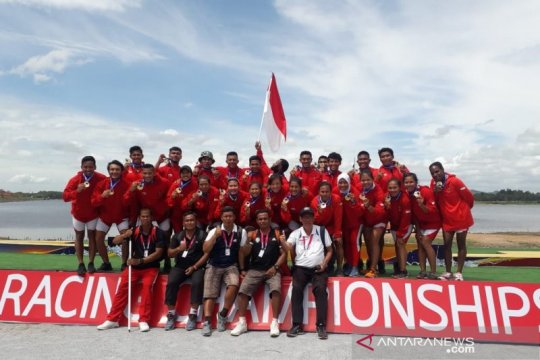 Tim Dayung Indonesia persiapkan diri jelang Olimpiade Tokyo