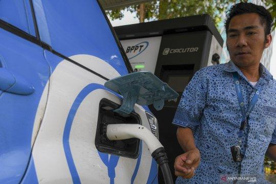 Penambahan stasiun pengisian listrik umum di Jakarta