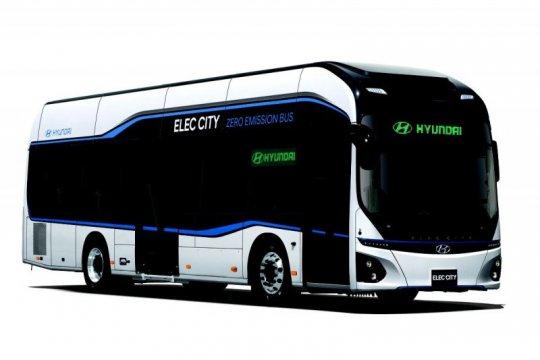 """Bus listrik Hyundai sediakan info """"real time"""""""
