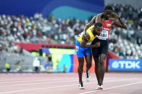 Aksi sportif Braima Dabo membuat dunia terpana