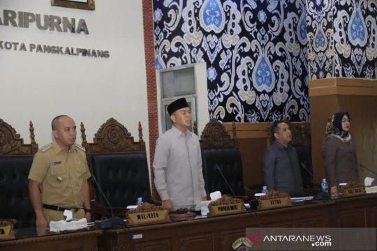Pemkot-DPRD Pangkalpinang tandatangani nota kesepakatan KU-APBD