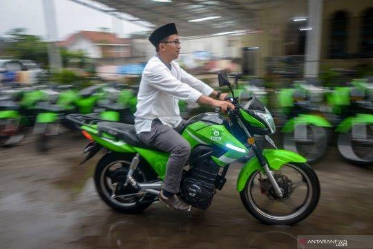 PWNU Jabar distribusikan motor listrik