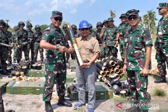 Wagub Babel beri apresiasi latihan TNI AL di Belitung