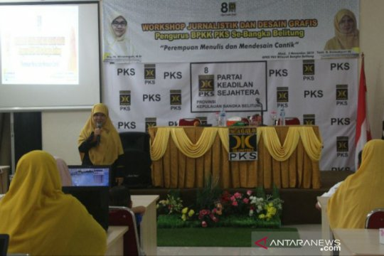 BPKK PKS Babel Gelar Workshop Jurnalistik