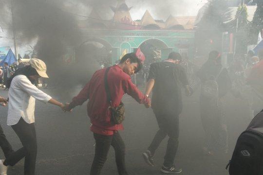 Polisi bantah ada korban jiwa saat demo di Lampung