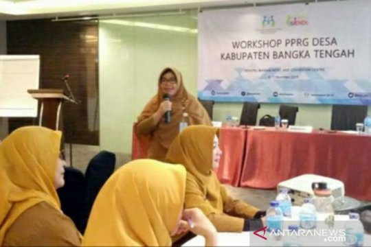 DP3ACSKB Babel fasilitasi workshop PPRG Desa