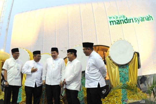 Peresmian Masjid Mandiri Syariah di Tol Cipali