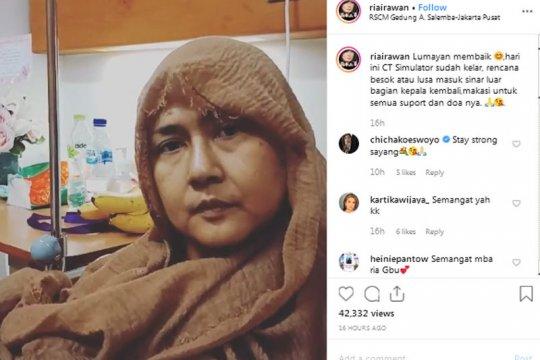 Aktris Ria Irawan meninggal dunia setelah berjuang melawan kanker sejak 2014