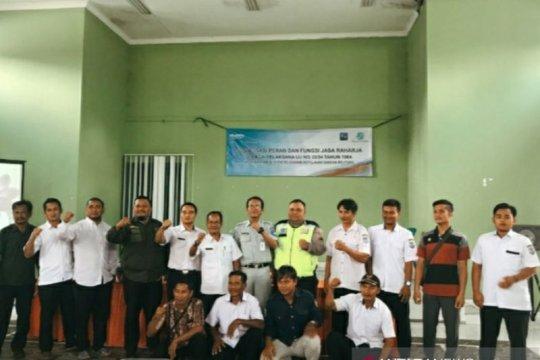 Jasa Raharja Babel gelar sosialisasi di Desa Tiram Bangka Selatan