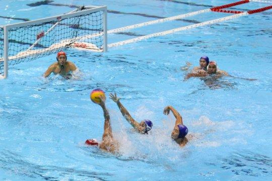Timnas polo air putra persembahkan emas pertama bagi Indonesia