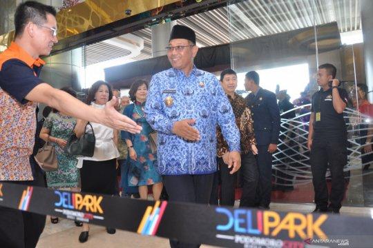 Pembukaan Mall Deli Park Medan