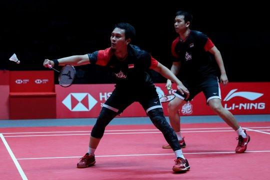 Dua wakil Indonesia siap tampil di final BWF World Tour 2019
