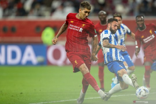 Gol Roberto Firmino amankan Liverpool ke final Piala Dunia Antarklub