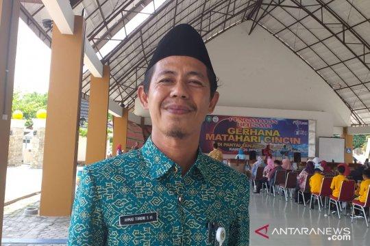 Kantor Kemenag Kabupaten Belitung gelar shalat gerhana matahari