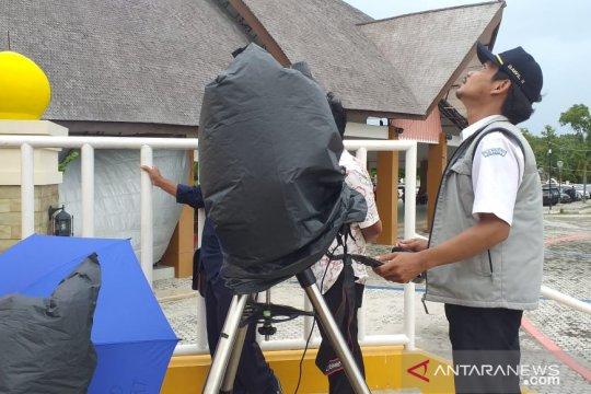 BMKG gunakan teleskop amati gerhana matahari cincin di Kabupaten Belitung